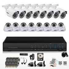 Byron DVR500SET DVR500 CCTV 4 Colour Cameras & 500GB DVR Set