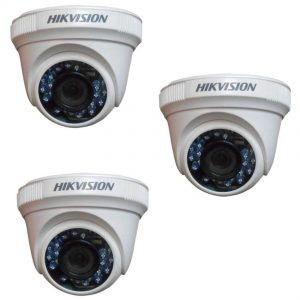 HIKVISION (720P) Turbo Dome DS-2CE56C0T-IRP PLASTIC @hardwarevillagengr.com