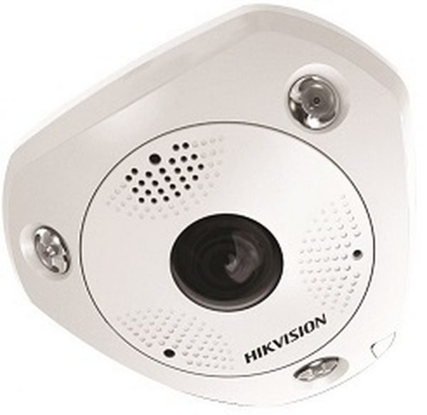 Hikvision 3MP WDR Fish-eye Panoramic IR(Indoor)Network Camera DS-2CD6332FWD-IS @hardwarevillagengr.com