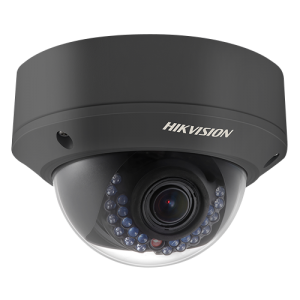 Hikvision NETWORK VARI FOCAL DOME CAMERA DS-2CD2722F-IZS: 2MP,Dome megapixel high resolution • Full HD1080p real-time video • 2.8-12mm vari focal lens • IR LEDs: up to 20m • DWDR & 3D DNR & BLC • Support on-board storage (up to 128GB) • IP66 • Vandal-proof • PoE (Max 7W) @hardwarevillagengr.com