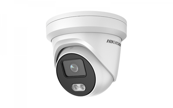 Hikvision DS-2CD2327G1-LU 2 MP ColorVu Fixed Turret Network Dome Camera 4mm