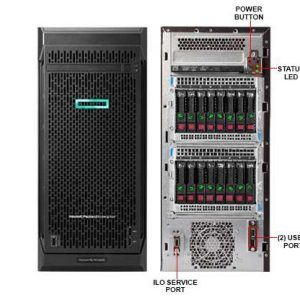 Hewlett Packard Enterprise ProLiant ML110 Gen10 server 1.8 GHz Intel Xeon Silver 4108 Tower (4.5U) 550 W
