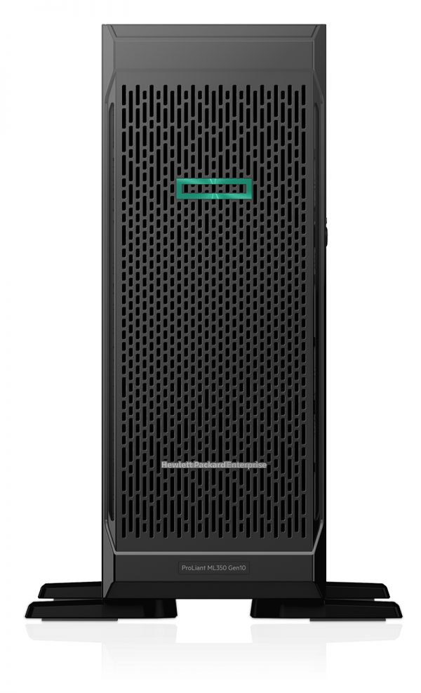 Hewlett Packard Enterprise ProLiant ML350 Gen10 server 1.70 GHz Intel® Xeon® 3104 Tower (4U) 500 W