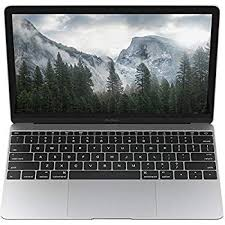 Apple MacBook 12-Inch Laptop Computer With Retina Display Intel Core M 1.1GHz Processor 8GB RAM